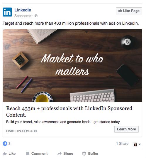 facebook ads offerta di valore