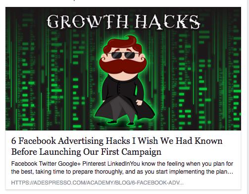 12 trucchi per usare bene la pubblicità su facebook